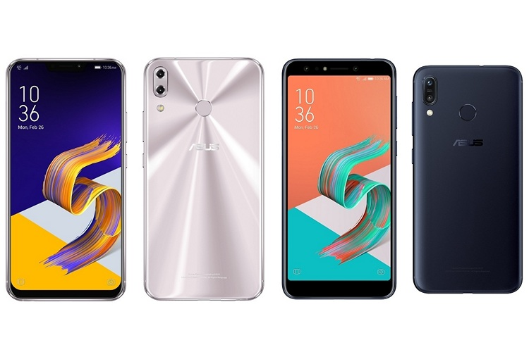 Asus at MWC 2018: iPhone X Clones ZenFone 5/5Z, ZenFone 5