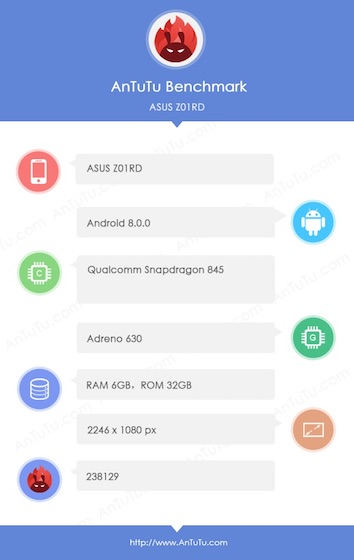 Ausus Z10R1 specification