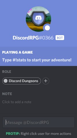 Discrod dungeons