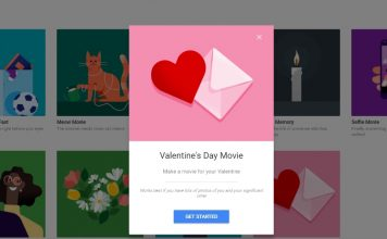 Google Photos Celebrates Valentines Day With Create Your Own Themed Movies