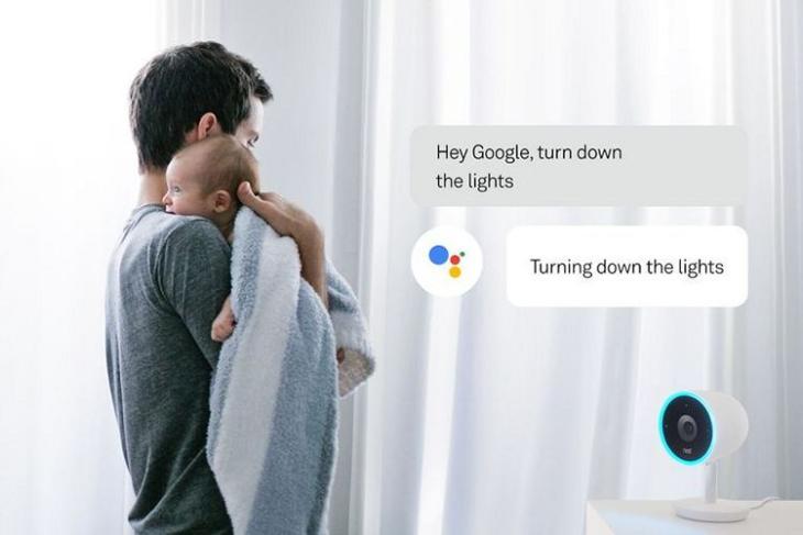 GoogleAssistant Nest Cam IQ