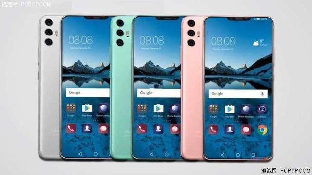 Huawei P20 Leaked Render