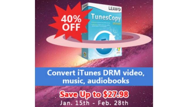 Leawo TunesCopy Ultimate Discount