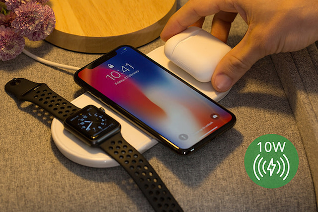 Plux Power mat for Apple devices