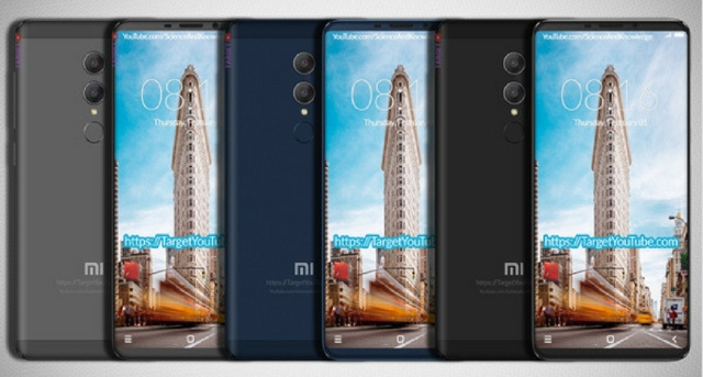 Redmi Note 5 Leaked Renders