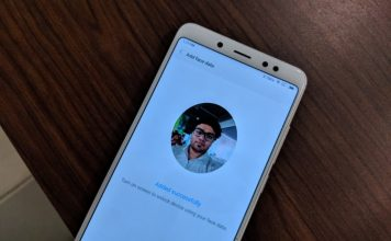 Redmi Note 5 pro Introduces Face Unlock with New OTA Update