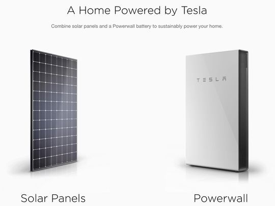 Tesla's Solar Panels and Powerwall Batteries Will Now be Available