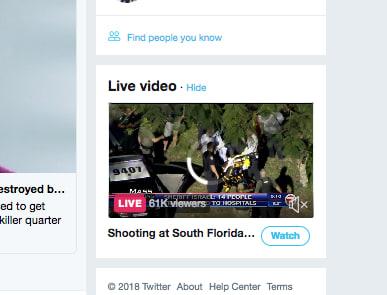Twitter Live Stream News
