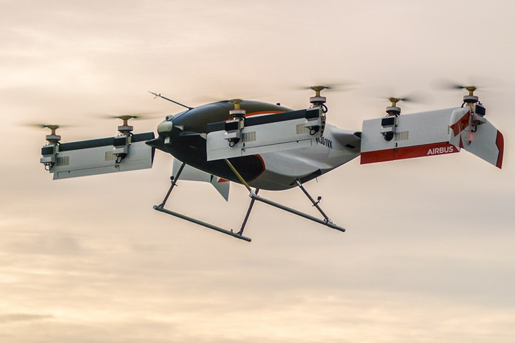 Airbus' Autonomous Flying Taxi 'Vahana' Completes First Successful Test Flight