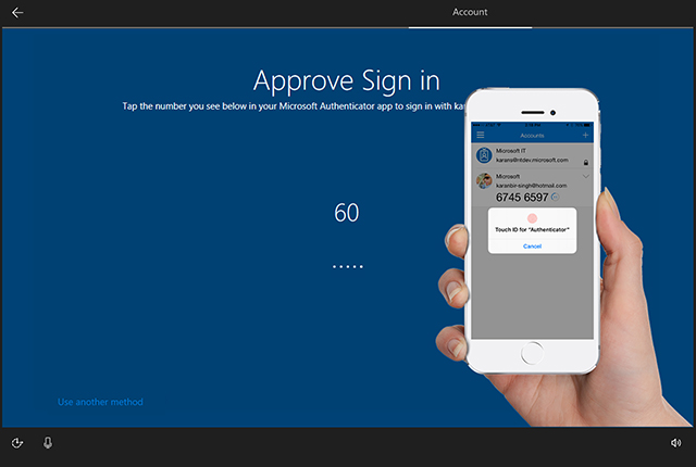 Windows 10 Authenticator App