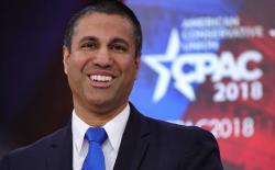 FCC Boss Ajit Pai Gets an Actual Gun by NRA for Killing Net Neutrality