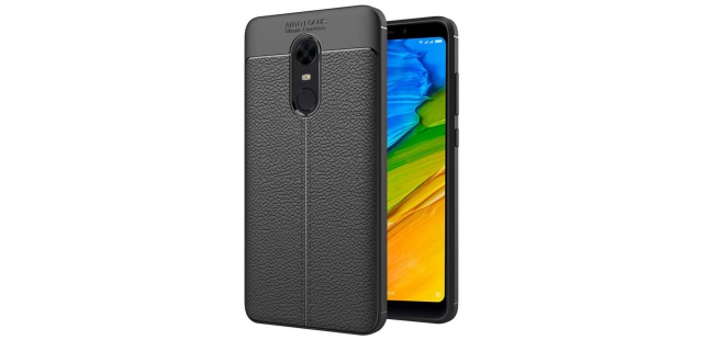 hupshy leather redmi note 5 case