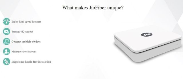 JIoFiber features