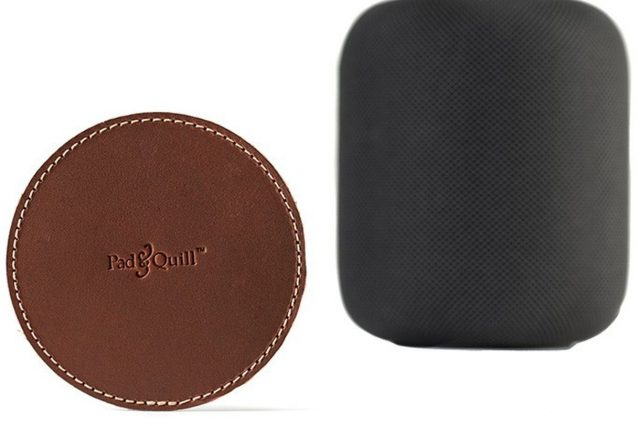 You Can Now Buy a Leather Coaster to Protect Your Wooden Furniture from HomePod