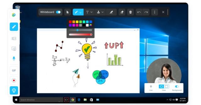 manycam screenshot best webcam software windows pc