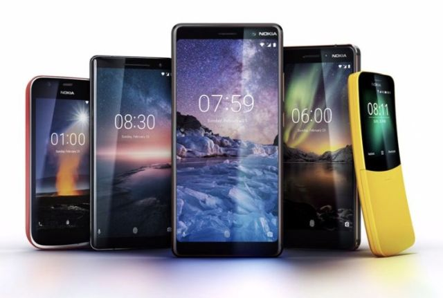 Nokia's New lineup unveiled at MWC 2018