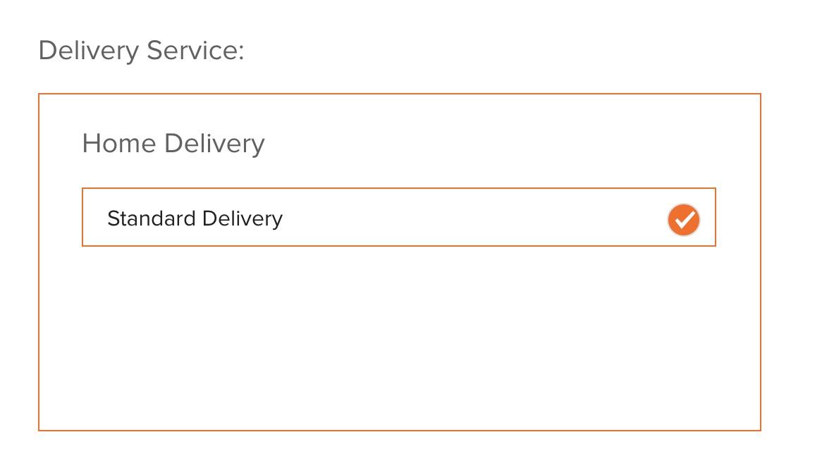order information opage