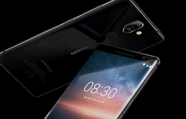 The premium Nokia 8 Sirocco