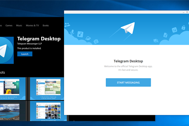Telegram Desktop app under scanner