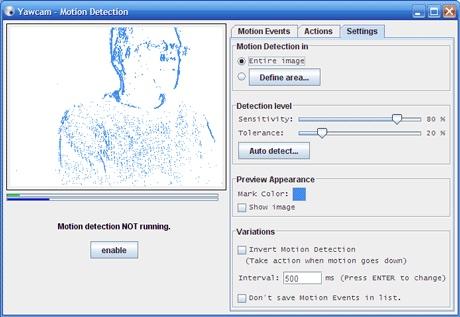 yawcam webcam software for windows pc