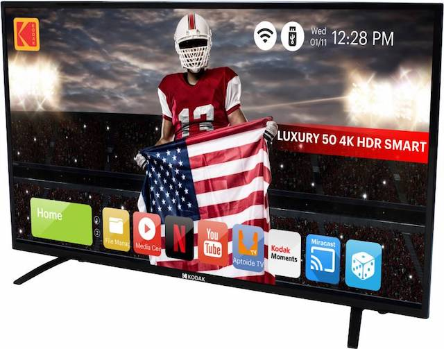 3. Kodak K LED Smart TV - 50UHDXSMART