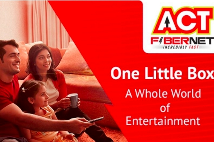 ACT Fibernet Testing ACTTV+ Android TV Device