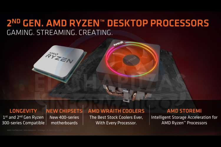 AMD Ryzen 2000 Series Leaked: Expect Superfast Performance