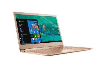 Lightweight Acer Swift 5 Ultrabook Unveiled in India; Prices Start at₹79,999