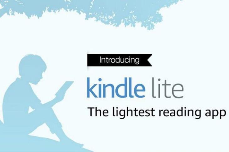Amazon Kindle Light website