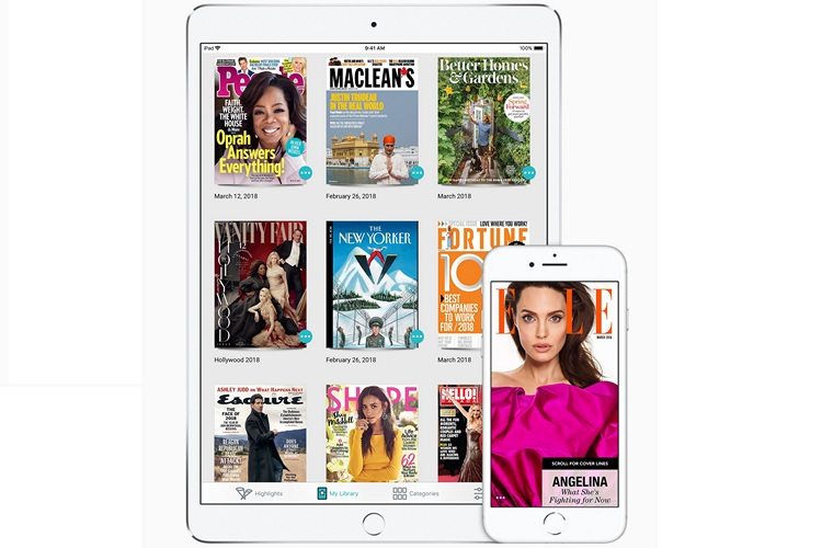 Apple Acquires Texture, a Digital Magazine Service
