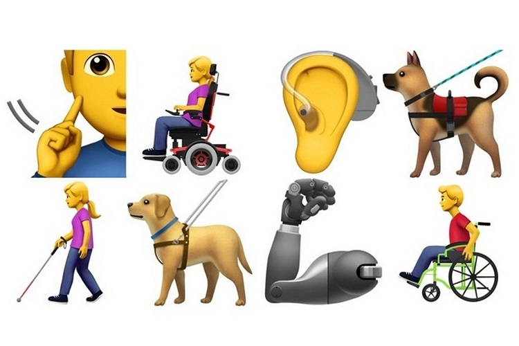 Apple Proposes 13 New 'Accessibility Emojis' For The Differently Abled