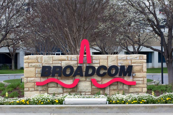 Broadcom Logo Shutterstock website