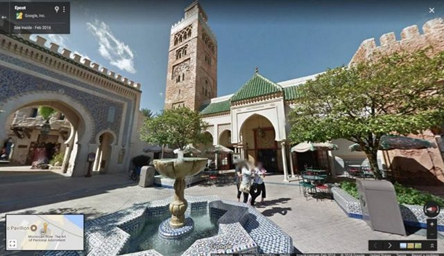 Disney-Street-View-Epcot-Morocco-from-Google