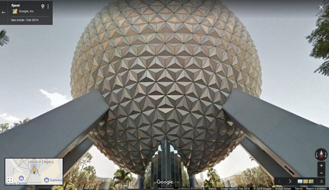 Disney-Street-View-Epcot-from-Google