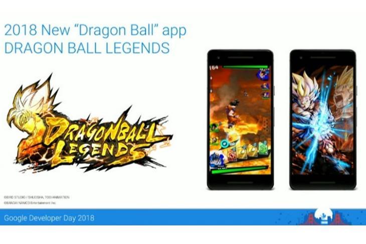 Dragon Ball Legends website