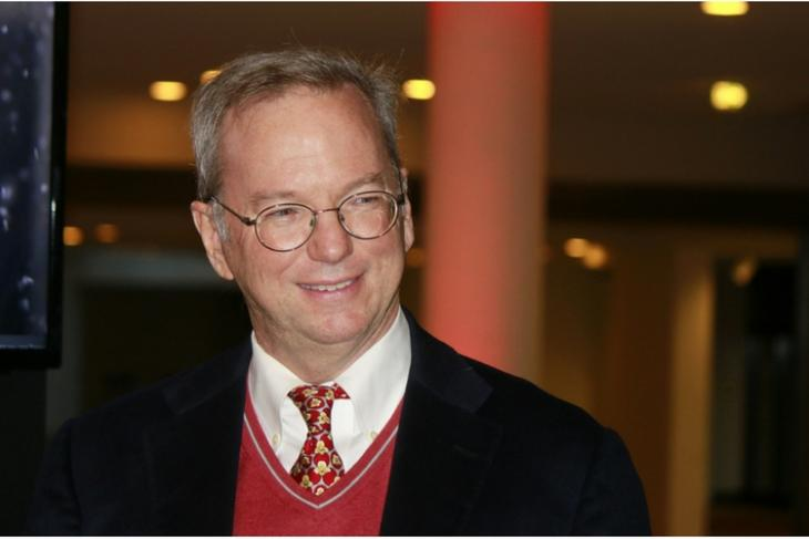 former Google CEO Eric Schmidt quits company