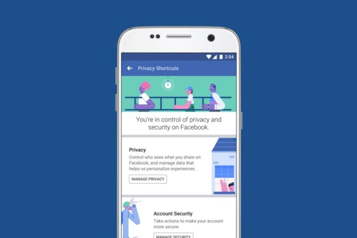 Facebook Revamps Settings Section Improves Accessibility and Adds Privacy Shortcuts Menu