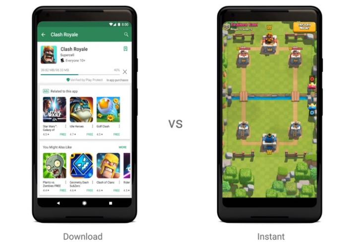 Google Introduces Google Play Instant, Lets Users Play a Demo Before Installing Games