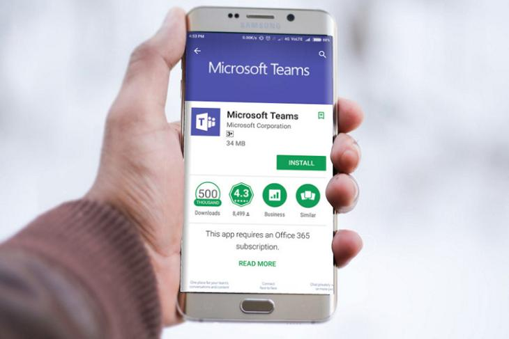 Microsoft Teams website