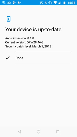 Moto X4 Android One Edition Starts Receiving Android 8.1 Oreo
