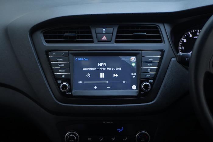 NPR One CarPlay