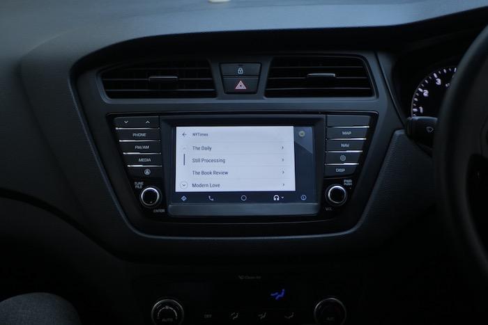 NY Times Android Auto