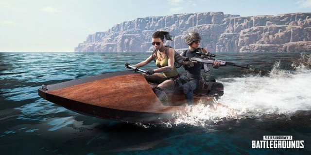 PLAYERUNKNOWN'S BATTLEGROUNDS Aquarail Jet Ski