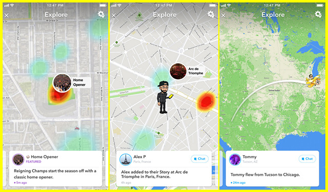 Snapchat's 'Snap Map Explore' Notifies Users About Their Friends' Whereabouts