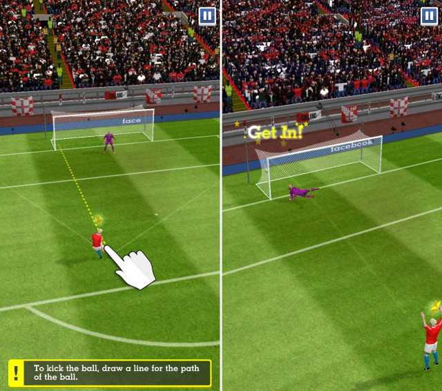 96d5faf47d1 Hero is a 3D gesture-based football game offering a great storyline coupled  with eye-candy graphics. The user plays from a young footballer s ...