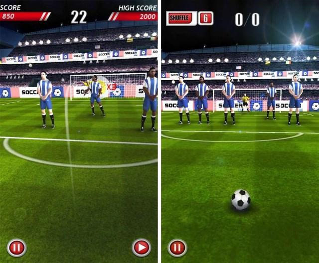 best free android football games 2018