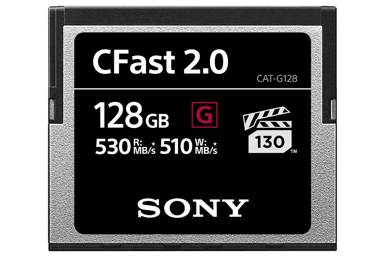 Sony's CFast 2.0 Memory Cards for Professionals Launched in India; Starting at Rs 7,400
