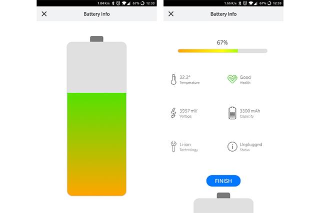 TestM Battery Info