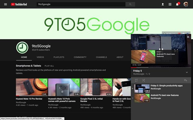 YouTube Experimenting With Picture-in-Picture Mode For Desktop Site