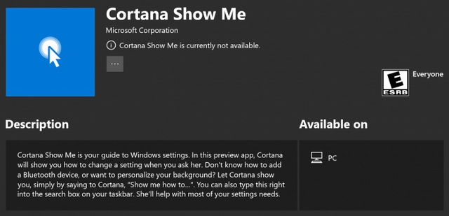 New Windows 10 Insider Preview Build Adds Calendar Search, Voice Commands for Cortana Show Me